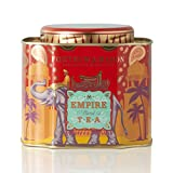 Fortnum & Mason British Tea, Empire Blend Tea, 250g 8.8oz Loose English Tea in a Decorative Gift Tin Caddy (1 Pack) - Seller Model Id Lempirelqt12 - USA Stock