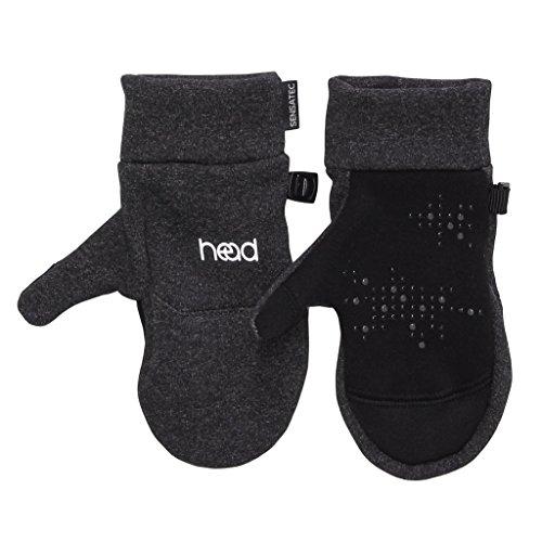 HEAD Kids' Touchscreen Mittens - Dark Heather Gray (Kids Mitten)