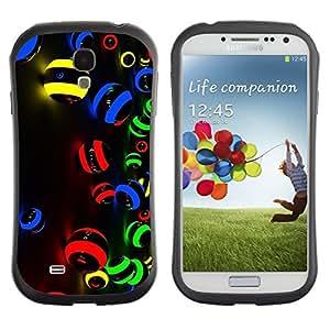 Pulsar iFace Series Tpu silicona Carcasa Funda Case para SAMSUNG Galaxy S4 IV / i9500 / i9515 / i9505G / SGH-i337 , Vibrant Art