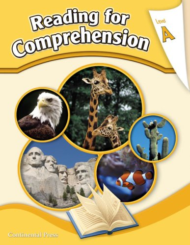 Reading Comprehension Workbook: Reading for Comprehension, Level A - 1st Grade ()
