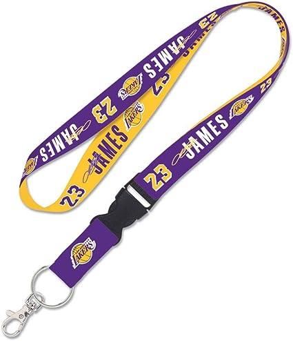 aminco NCAA Los Angeles Lakers NBA-LN-095-25 Team Lanyard Multicolor One Size