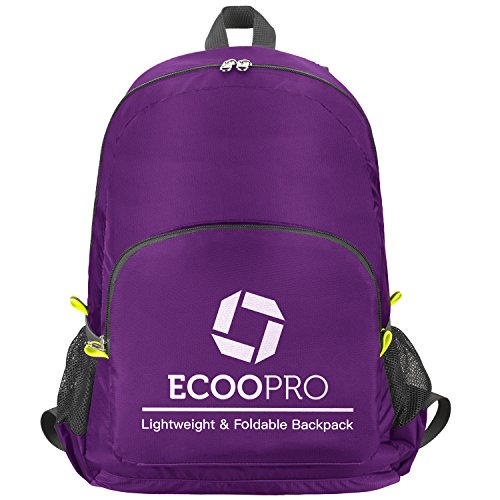 ECOOPRO 30L Lightweight Packable Backpack Hiking Daypacks Foldable Durable Waterproof Travel Daypack for Men Women and Teens