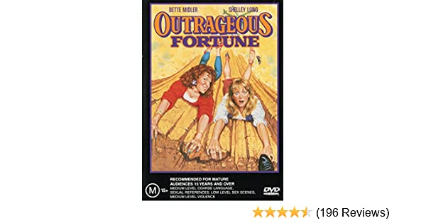 outrageous fortune movie review