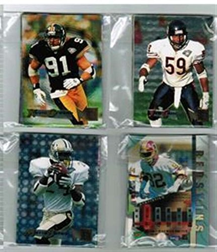 Rams Metal Louis - 1995 Fleer Metal FB St Louis Rams Team Set 6 cards Jerome Bettis Isaac Bruce
