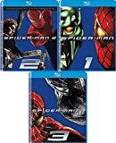 Spider-Man 1/2/3 Movie Trilogy Blu Ray Hero Collection Set VS Green Goblin / Doc Oc / Sandman
