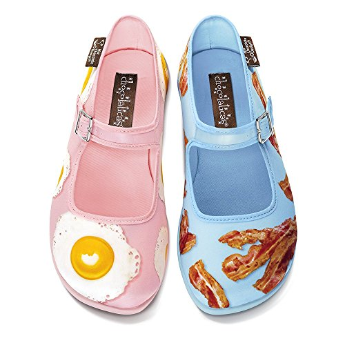 Hot Chocolate Design Flats para Mujeres Chocolaticas Breakfast Talla HCD: 40