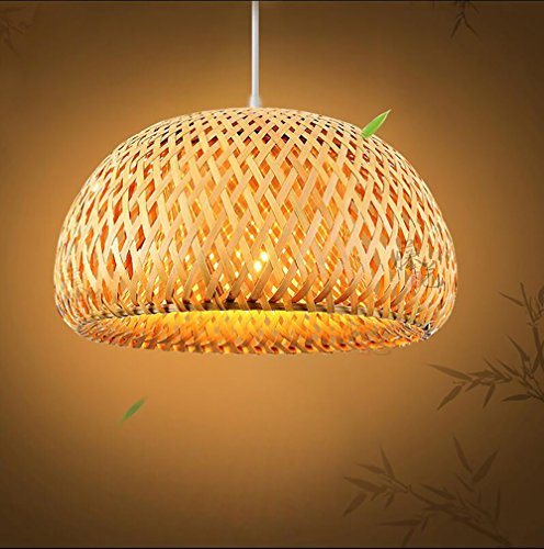 nt Lamp Lantern Ceiling Light Aisle Home Decor Chandeliers Fixtures 17.7 X 9.8 Inch (Asian Bamboo Chandelier)
