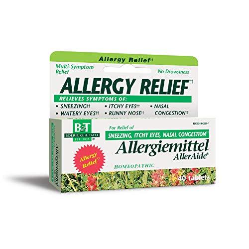 Alleraide 40 Tabs - Boericke & Tafel Allergiemittel AllerAide Allergy Relief, 40 Tablets