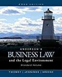 img - for Anderson's Business Law and the Legal Environment, Standard Volume (MindTap Course List) book / textbook / text book