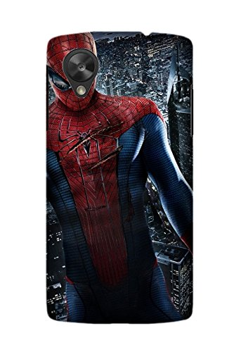 Movie The Amazing Spider-Man Mobile Phone Skin Case Cover For LG Nexus 5