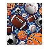 Bernie Gresham Sports Super Fan Baseball Basketball Football Soccer Mildew moisture-proof shower curtain Custom shower curtain 60''(W) x 72''(H) (12 Holes) Custom by