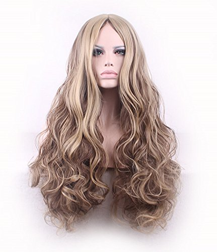 AneShe Fluffy Blonde Highlights Synthetic product image