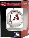Jarden Sports Licensing MLB Arizona Diamondbacks Unisex MLB OS PDQ Aridia Ornmt Bbmlb OS PDQ Aridia Ornmt BB, Red/Black, Small