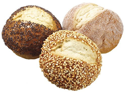 Artificial Bread and Rolls - Fake Bread and Rolls For Display, 3 Pieces by all