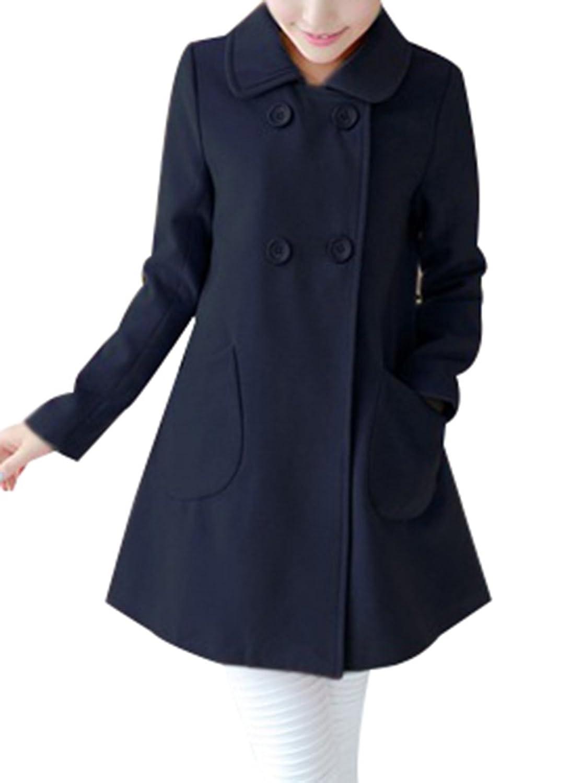 Navy Blue Wool Coat Womens - All The Best Coat In 2017