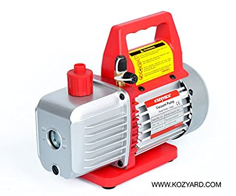 3.5 CFM Single-Stage Rotary Vane Vacuum Pump (1-stage, 150micron, 29.91