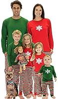 SleepytimePjs Christmas Stripes Family Matching Pajamas