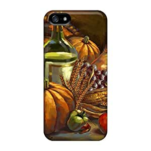LSxvbfu5451DBXjo Tpu Phone Case With Fashionable Look For Iphone 5/5s - Thanksgiving Feast