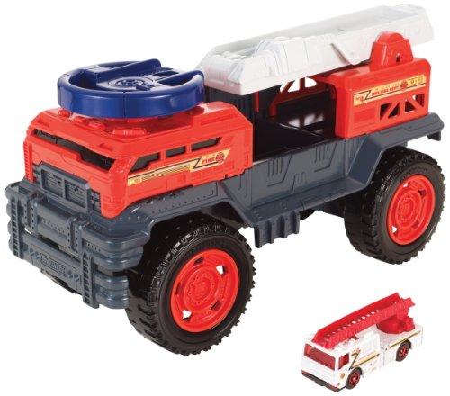 Mattel Matchbox Car-Go Controllers Fire Engine