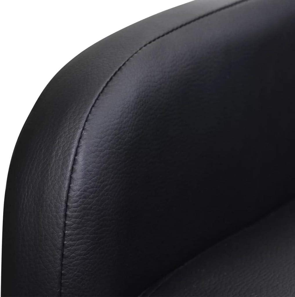 vidaXL Poltrona Pieghevole reclinabile in Pelle Artificiale Crema