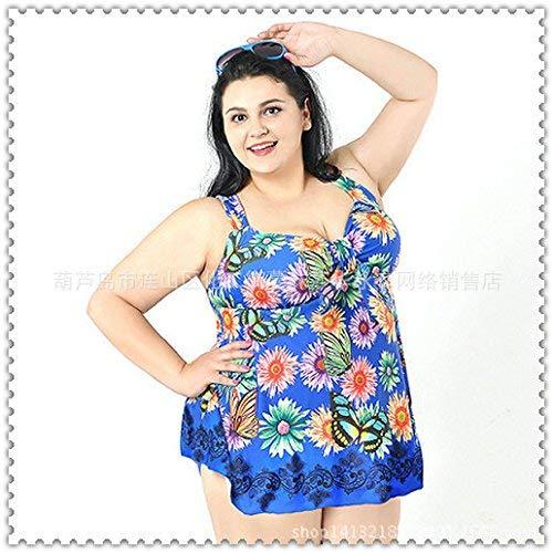 Mostrato Zaffiro Da Costume Split Mostrato Bagno Più Colori Stile Taglia Fiori Blu Unica Qiusa Come 4xl Intero colore Dimensione Skirt A aqngAgP