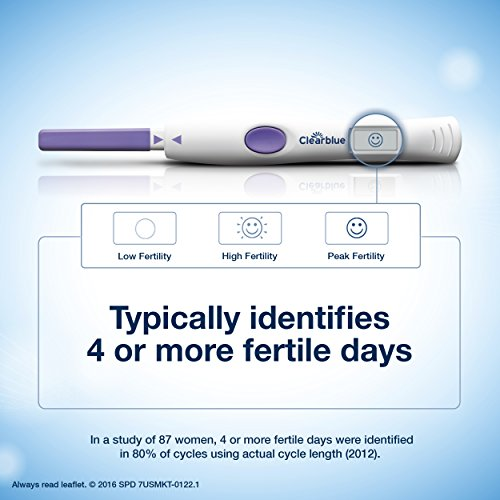 Clearblue Ovulation Test, 10