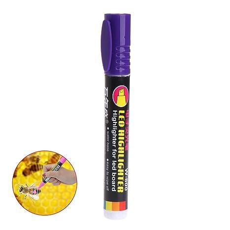 Jiamins Rotulador Fluorescente Para Colorear Abejas