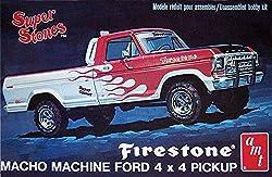 ERTL 1978 Ford 4x4 Firestone Pickup 1/25 Scale Model Kit from Ertl Models