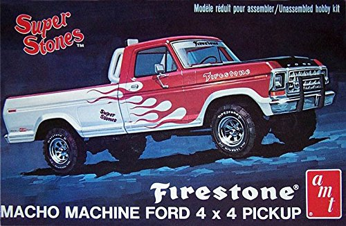ERTL 1978 Ford 4x4 Firestone Pickup 1/25 Scale Model Kit