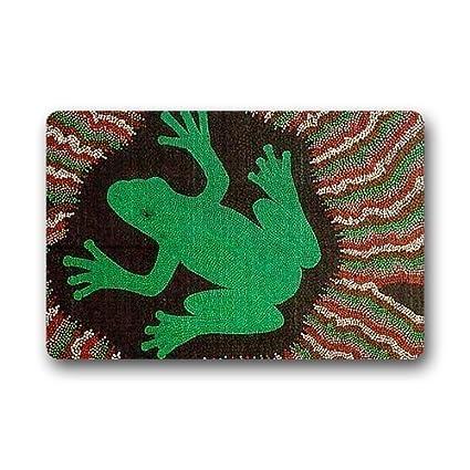 Amazon.com : Door Mats Custom Design Rubber Flip Flop Welcome Home Funny Doormat 15.7x23.6 inches : Garden & Outdoor