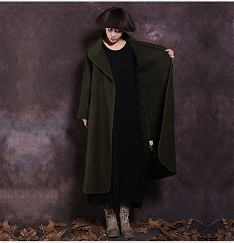 coat coat cloak XL self women's and winter autumn GAOXU windbreaker cultivation hair long Women's YqFFfBAH