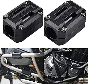 BEESCLOVER Motorcycle Engine Protection Guard Bumper Decor Block for BMW S1000XR G310 GS R Nine T R9T R1200 R1200RS Show One Size