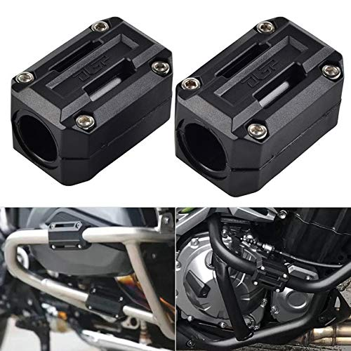 Deborah Daniel - Motorcycle Engine Guard protector engine Bumper Guard Blocks for Suzuki GSR600 GSF600 GSF600 Bandit GSX750 Bandit 600 GSF 650 ()