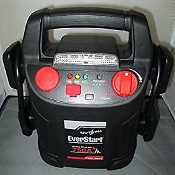 Amazon.com: EverStart 554338126 Jump Starter with Air Compressor 750 Peak Amps: Electronics