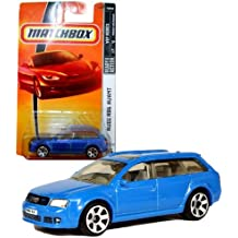 Matchbox Year 2007 MBX VIP Luxury Series 1:64 Scale Die Cast Metal Car # 36 - Light Blue Station Wagon Audi RS6 Avant