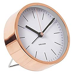 KARLSSON Minimal Alarm Clock, White by Karlsson
