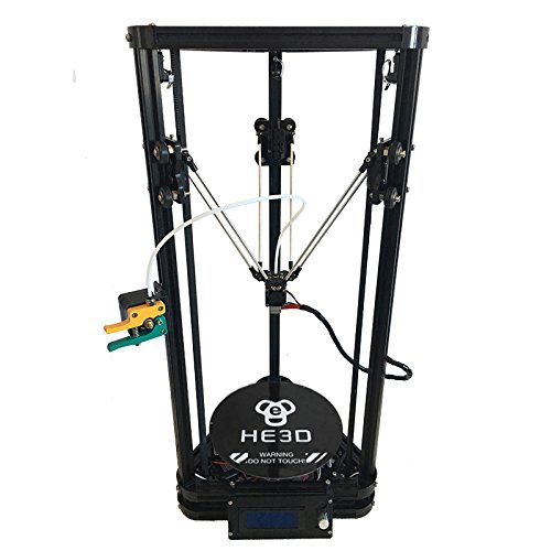 He3D K200 single head delta DIY 3d printer kit autolevel with heat bed- support multi material filament