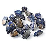 Bingcute 1lb Bulk Raw Rough Lapis Lazuli Stones Raw