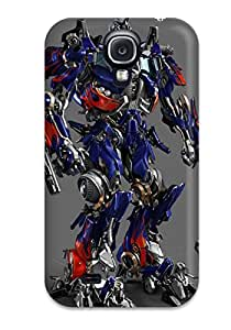 New Style Durable Defender Case For Galaxy S4 Tpu Cover(optimus Prime) 2900281K27586271