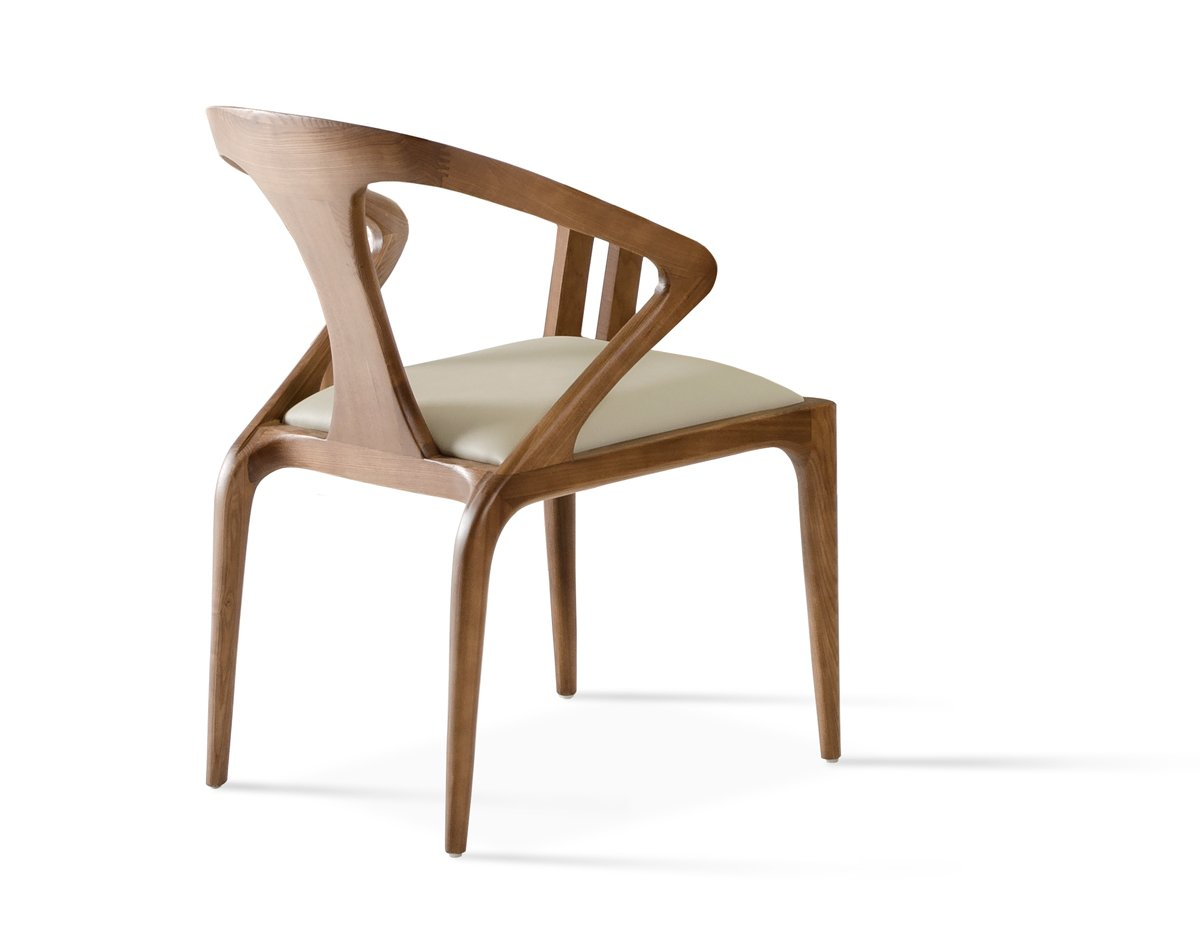 Amazon.com: modrest Campbell silla de comedor Nogal/nogal ...