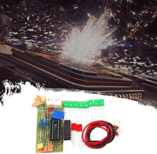 Multicolore Lm3915 Fun Kit dindicateur de Niveau Audio 10 Segments//Indicateur de Niveau de pi/èces Kit de Module de Petit indicateur de Niveau Audio