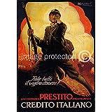 AGS - Fale Tutti il vostro dovere! (Do Your Duty!) Vintage Italian World War One WW1 WWI Military Propaganda Poster - 24x36