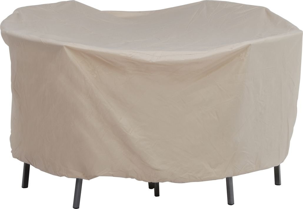 320 x 220 x 90 cm approx Stern 454943 protective cover for oval furniture group beige