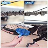 Bbtops Bike Chain Cleaner, bike chain degreaser cleaner Clean Accessories Bicycle Chain Machine Brush Scrubber Bicycle Maintenance Clean Accessories Set - Quick Clean Tool for All Types of Bicycle