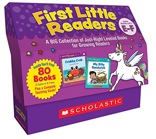 First Little Readers Classroom Set: Levels E & F: A Big Collection of Just-Right Leveled Books for Growing Readers by Scholastic (Image #1)
