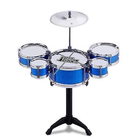 Amazoncom O Toys 8 Pcs Kids Drum Toy Set Rock Jazz Drum Kit Early