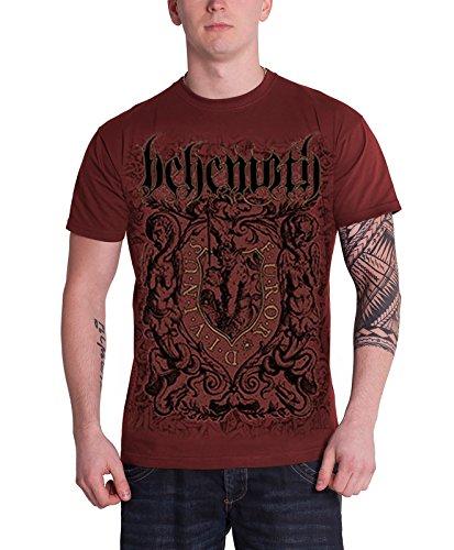 Behemoth Furor Divinus Official Mens New Red T Shirt