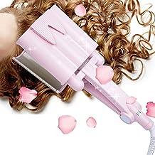 Ckeyin ® Tourmaline Ceramic Three Tube Hair Curler Modeling Tools (Big 32MM)