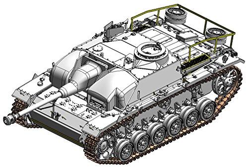 Dragon Models 1/35 Concrete Armored StuG.III Ausf.G with Zimmerit Dragon Model Kits (Stug Iii G Best Gun)