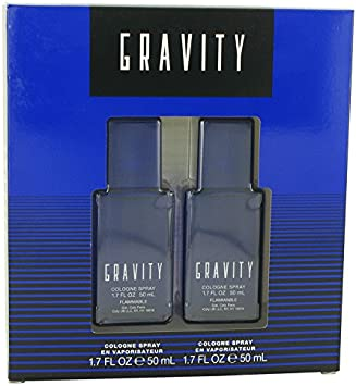 Coty 516210 Gravity – Gift Set – Two 1.7 oz. Cologne Sprays